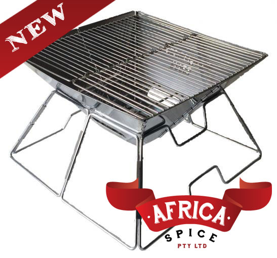 NEW! now available in Australia KWIK BRAAI (charcoal BBQ) on Africaspice.com.au website